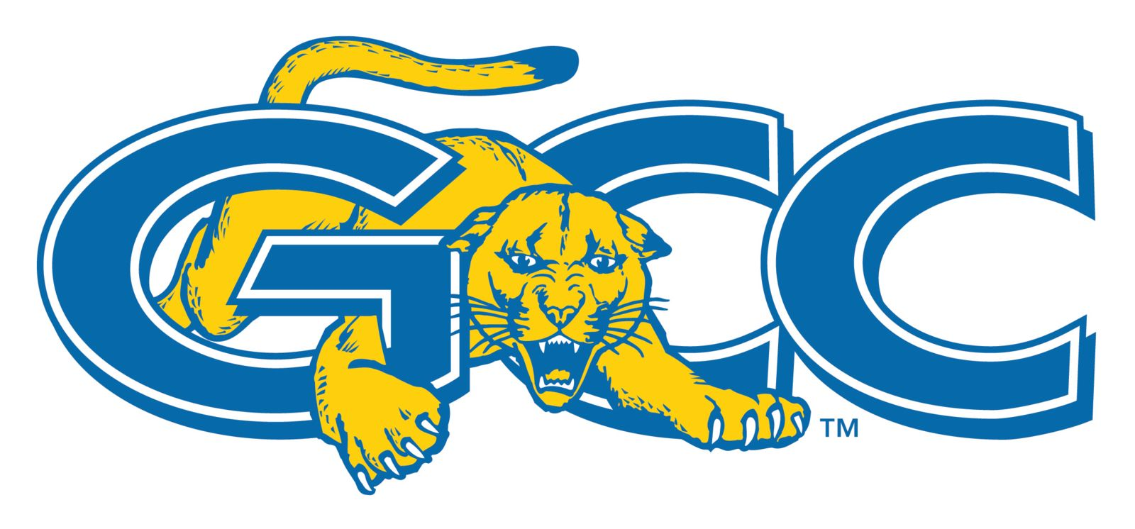 GCC Cougars Athletics Logo - no text