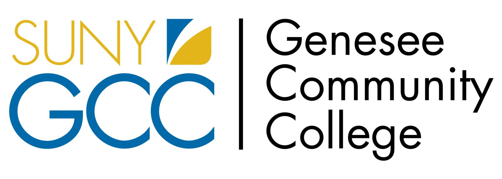 Genesee Community College Logo - Full Color Banner (GCC)
