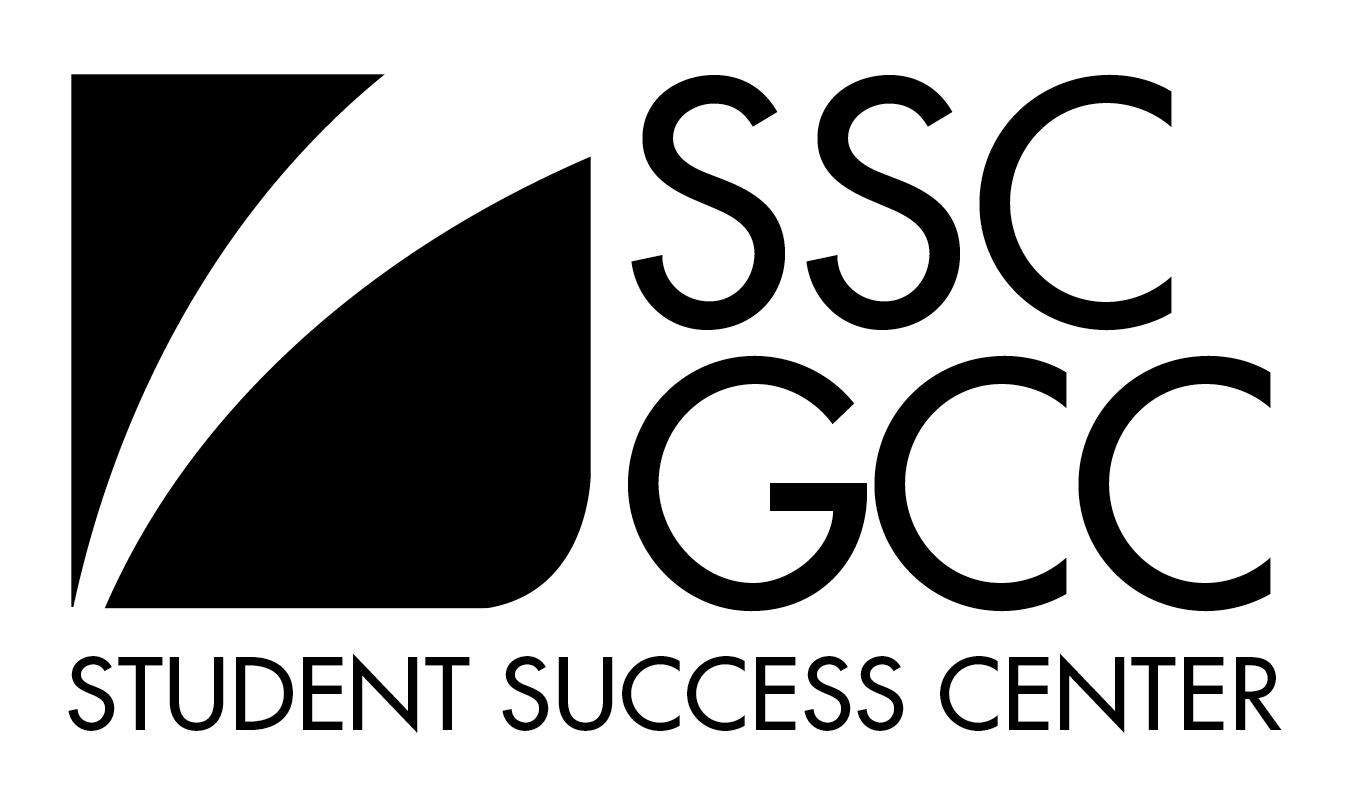 GCC Student Success Center Logo - Black