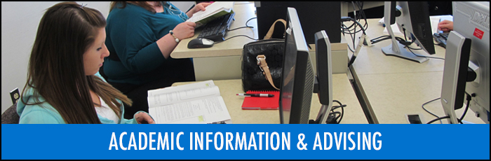 Academic information and advisement