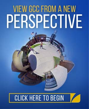 View GCC from a different perspective - click here to take our 360 degree tour