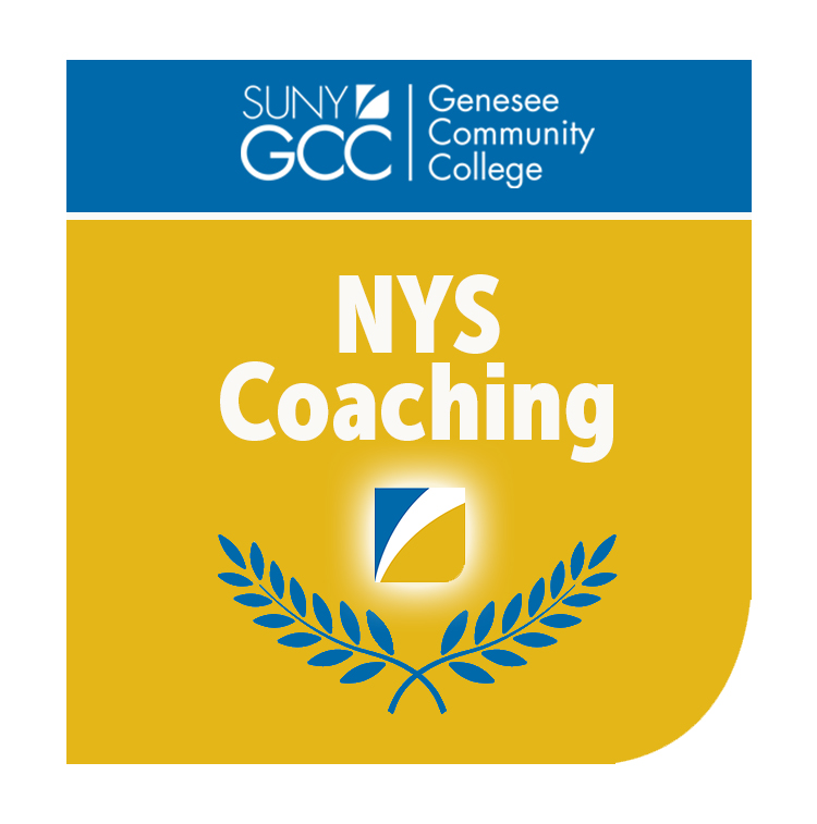 Badge for SUNY GCC NYS Coaching micro-credential