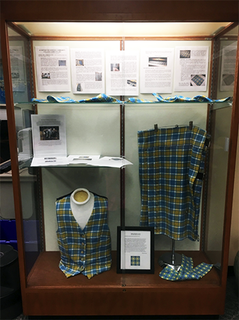 Plaid Display Case