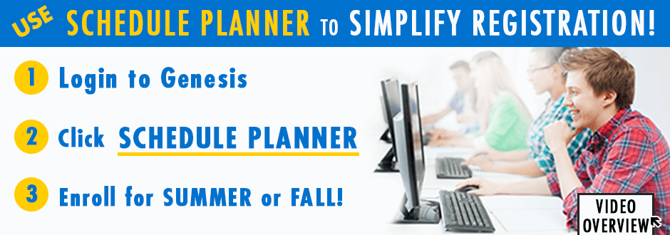 Use Schedule Planner to Simplify Registration