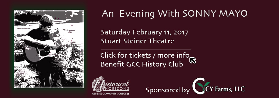 An Evening With Sonny Mayo - History Club Event 2017