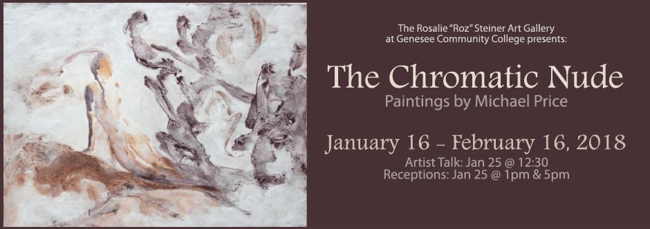 Roz Steiner Art Gallery Exhibit - The Chromatic Nude
