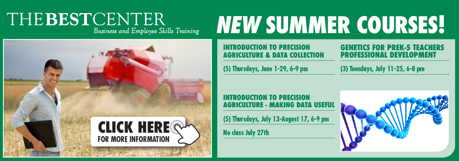 The BEST Center - Summer Agriculture Courses