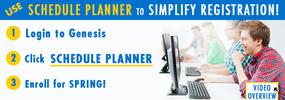 Use Schedule Planner - Enroll for Spring