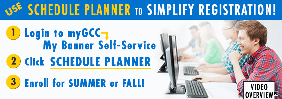 Use Schedule Planner to plan your fall classes!