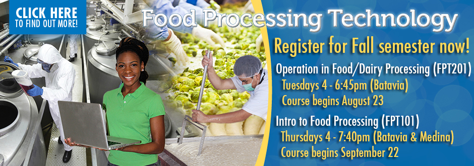 Food Processing Technology Fall 2016