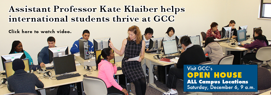Kate Klaiber International Students