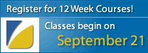 Fall 12 Week Courses