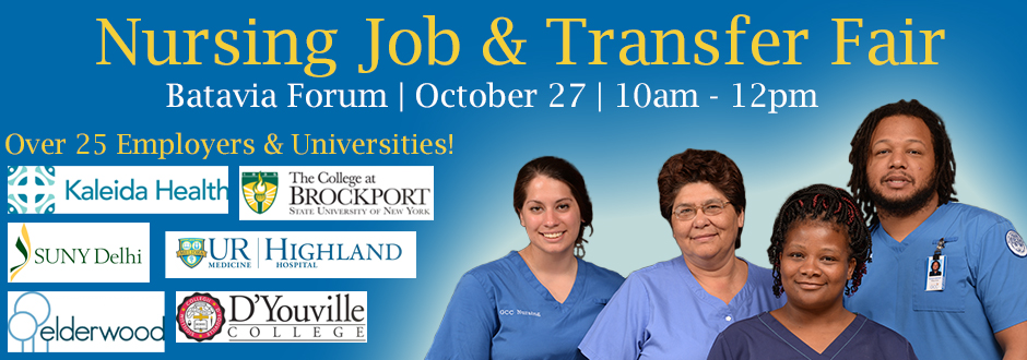 Nursing Job & Transfer Fair - Fall 2016