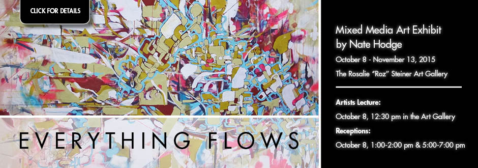 Everything Flows Art Exhibit