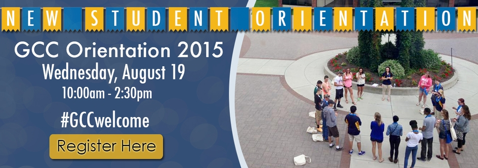 New Student Orientation 2015