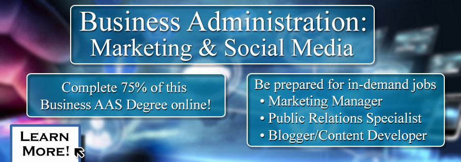 Business Administration: Marketing & Social Media 2016