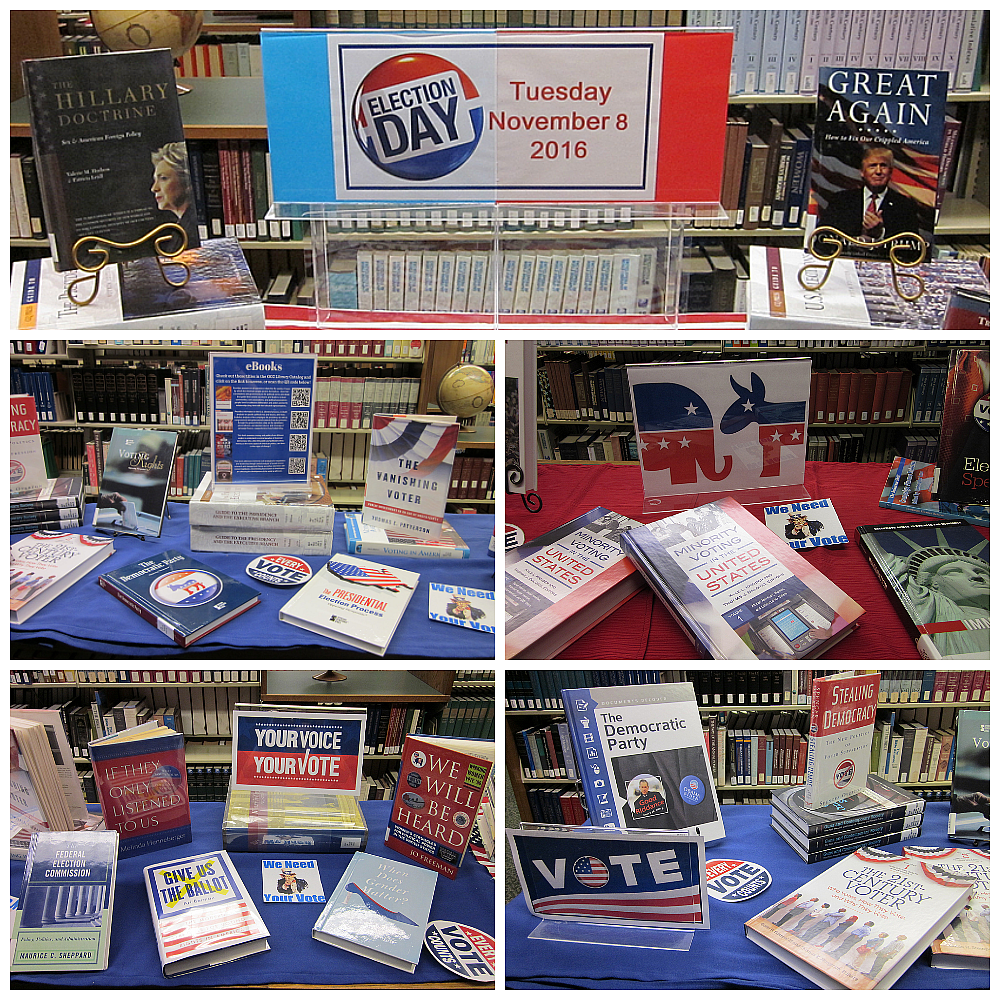 photos of election display