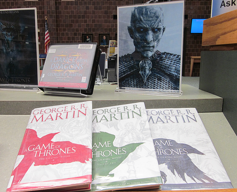 game of thrones display