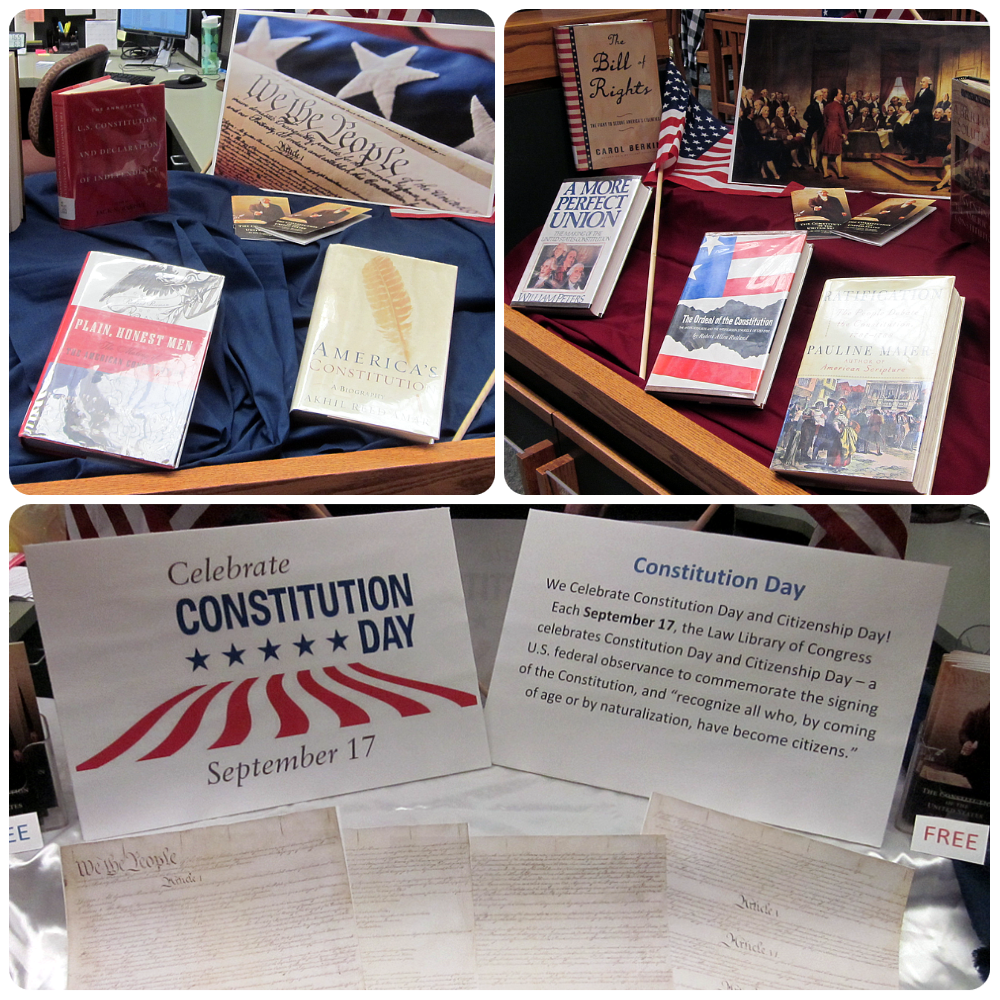 constitution day exhibit