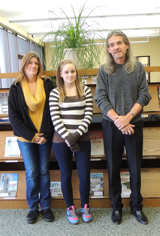 photo contest winners Keith Compton, Nicole Wickins, Christina Adams