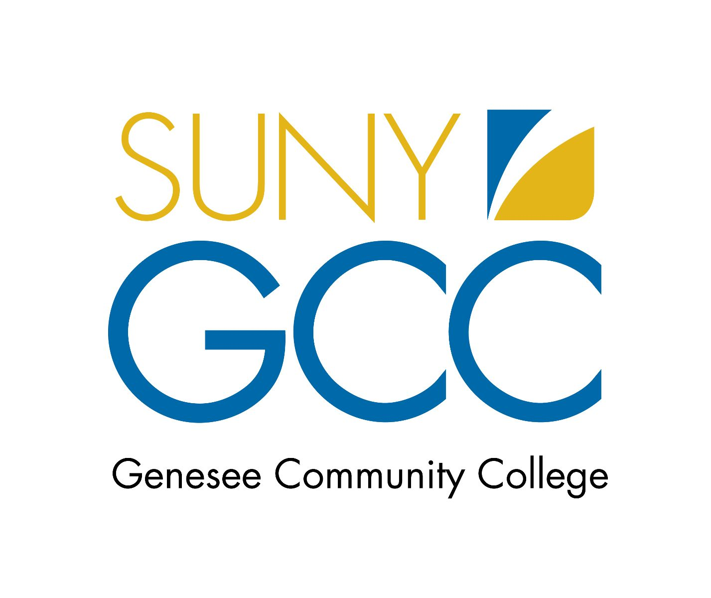 Genesee Community College Logo - Full Color (GCC)